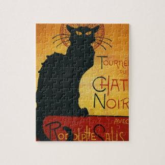 Chat Noir - Black Cat Jigsaw Puzzle