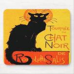 Chat Noir...Black Cat Mousepad