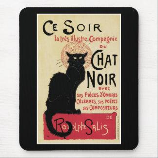 Chat Noir~Black Cat Mouse Pad