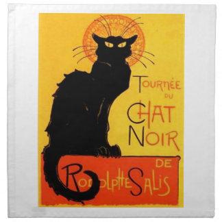 Chat Noir...Black Cat Napkins