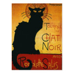 Chat Noir - Black Cat Post Card