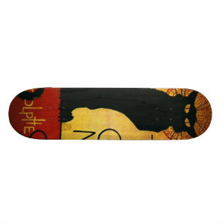 Chat Noir - Black Cat Skateboard