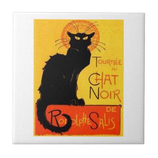 Chat Noir...Black Cat Tile