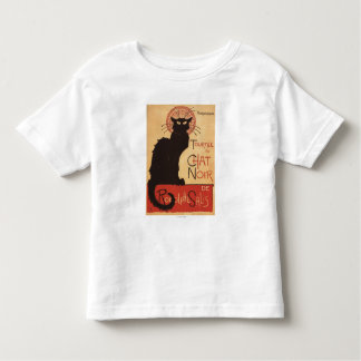Chat Noir Cabaret Troupe Black Cat Promo Poster Toddler T-shirt