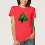 Chat Noir Christmas T Shirts
