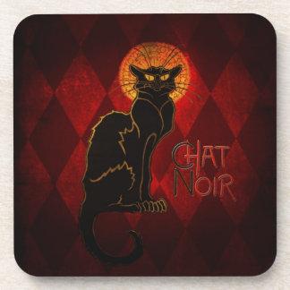 Chat Noir Cork Coaster