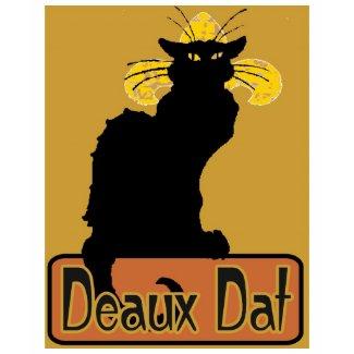 Chat Noir Deaux Dat shirt
