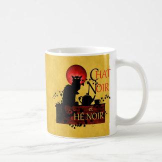 Chat Noir et Thé Noir Coffee Mug