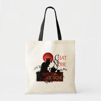 Chat Noir et Thé Noir Tote Bag