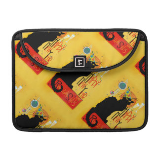 Chat Noir Happy New Year Sleeves For MacBooks