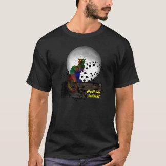 Chat Noir Holi Hai T-Shirt