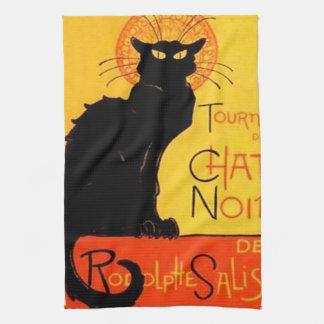 Chat Noir Kitchen Towel