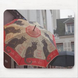 Chat Noir Montmartre Mousepad