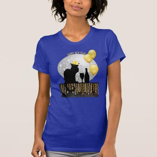 Chat Noir New Year Eve T_Shirt