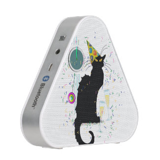 Chat Noir New Years Bluetooth Speaker