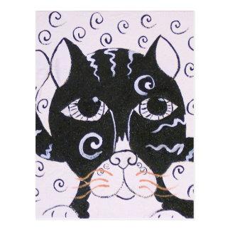 Chat  Noir Postcard