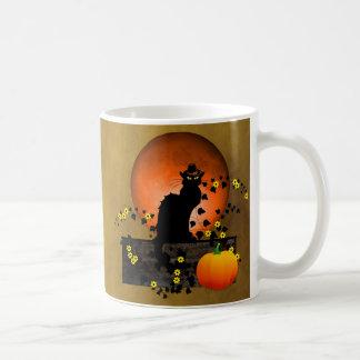 Chat Noir Thanksgiving Coffee Mug