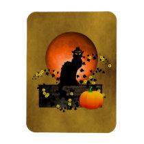 Chat Noir Thanksgiving Magnet