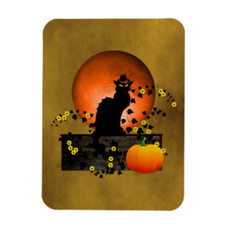 Chat Noir Thanksgiving Magnet