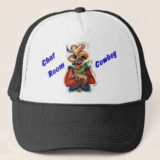 """Chat Room Cowboy"" (c) Original Concept Design Hat"