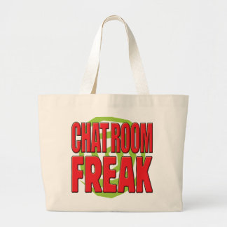 Chat Room Freak R Canvas Bags