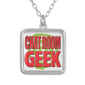 Chat Room Geek Personalized Necklace