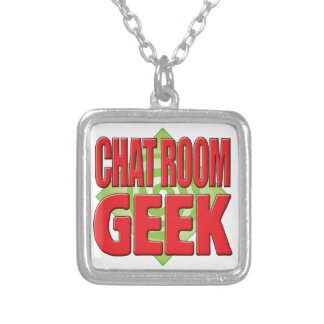 Chat Room Geek v2 Personalized Necklace
