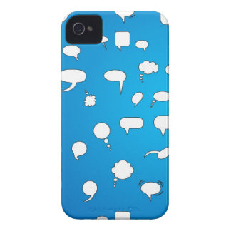 Chat with Me iPhone 4 Cover