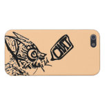 """""""Chat"""" Word-Art Cat Case For iPhone 5"""