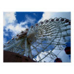 Chatan Ferris Wheel Poster
