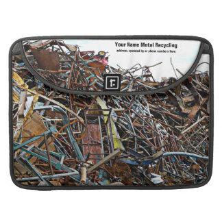 Chatarra que recicla el Junkyard Funda Macbook Pro