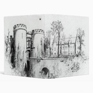 Chateau a Liège 1847 3 Ring Binder