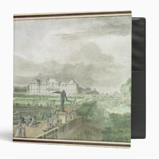 Chateau and Garden of Sceaux Binder