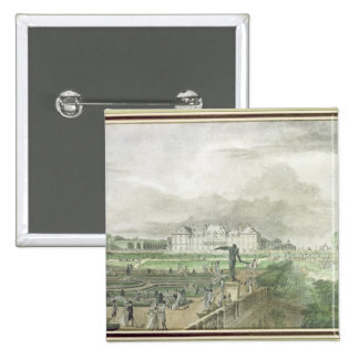 Chateau and Garden of Sceaux Pinback Button