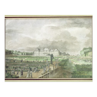 Chateau and Garden of Sceaux Postcard