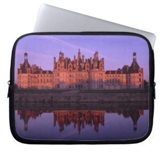 Chateau Chambord at sunset, Loire Valley, France Laptop Sleeve