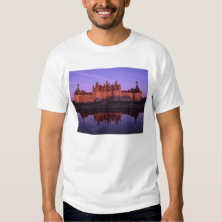 Chateau Chambord at sunset, Loire Valley, France Tees