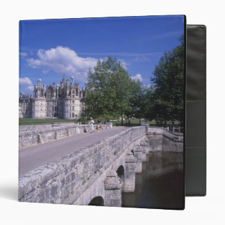 Chateau Chambord, Loire Valley, France 3 Ring Binder