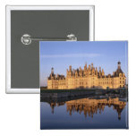 Chateau Chambord, Loire Valley, France Pinback Buttons