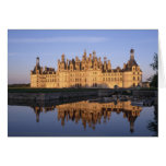 Chateau Chambord, Loire Valley, France Card