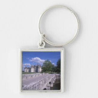 Chateau Chambord, Loire Valley, France Keychain