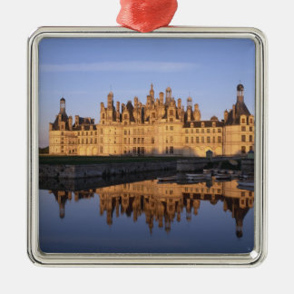 Chateau Chambord, Loire Valley, France Metal Ornament