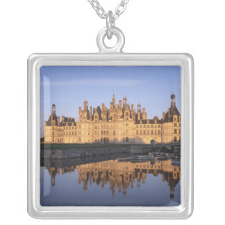 Chateau Chambord, Loire Valley, France Silver Plated Necklace