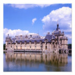 Chateau Chantilly, Oise, France Photo Print