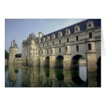 Chateau, Chenonceau, Indre/Loir, France Greeting Card