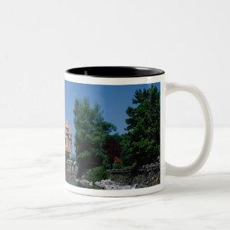 Chateau Chillon, Lake Geneva, Vaud Canton, Two-Tone Coffee Mug