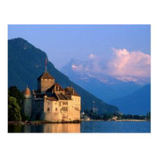 Chateau Chinon 2 Postcard