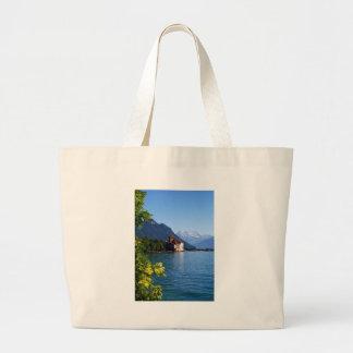 Chateau Chinon, beside Lake Geneva Tote Bag