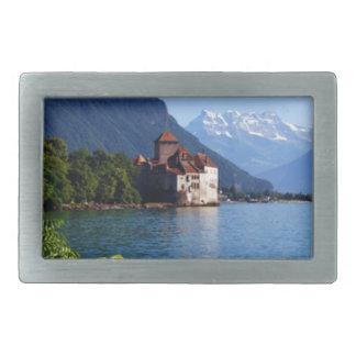 Chateau Chinon, beside Lake Geneva Belt Buckles