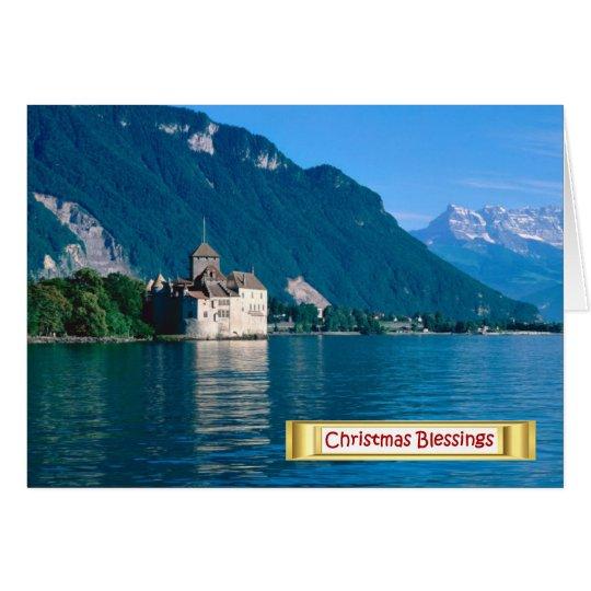 Chateau chinon, Lake Geneva 2 Card